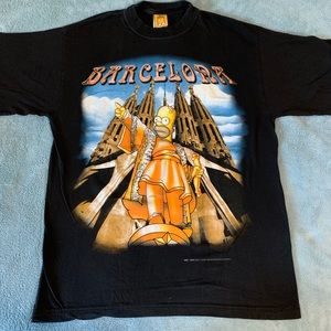 The Simpsons 1999 vintage t shirt